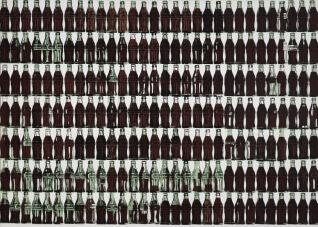image of Warhol's Coca Cola bottles