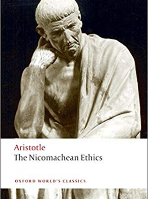 Book cover art for Nicomachean Ethics by Aristotle