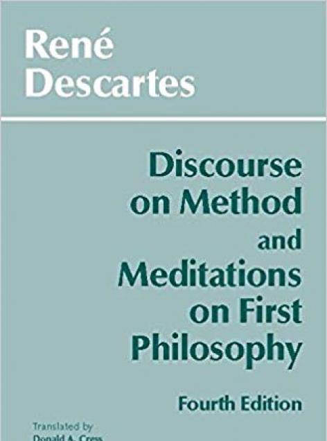 Book cover art for Discourse on Method and Meditations on First Philosophy by Descartes