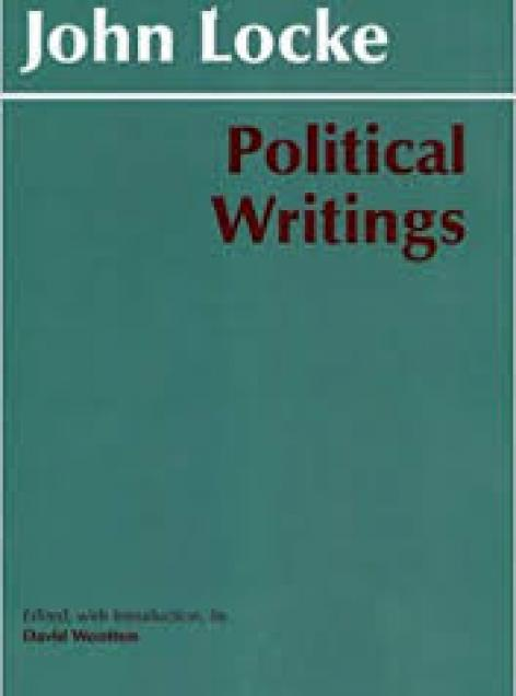Book cover art for Political Writings by Locke
