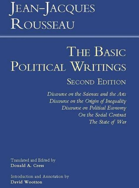 Book cover art for The Basic Political Writings by Rousseau