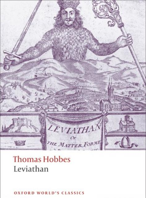 Book cover art for Leviathan by Hobbes